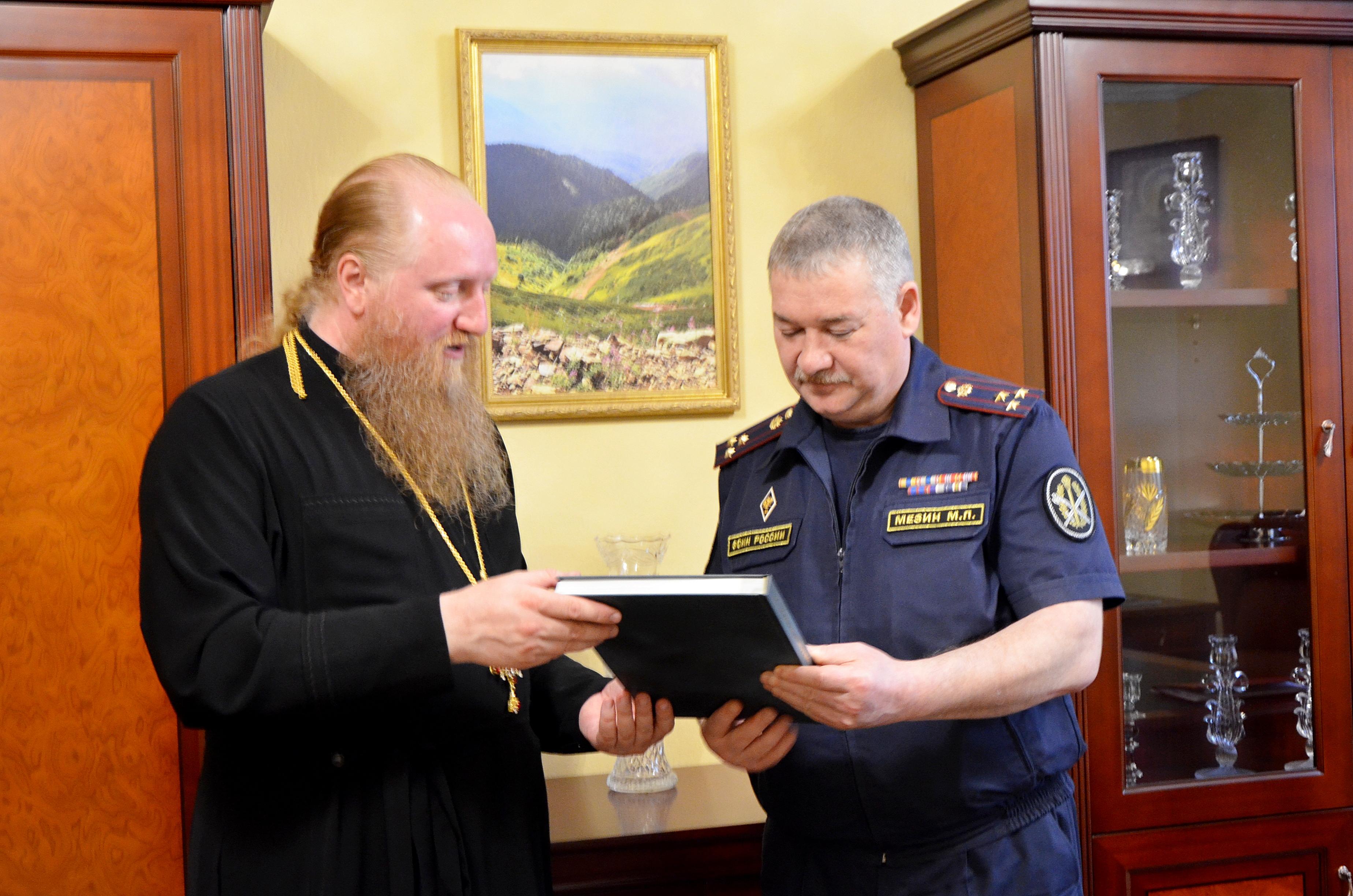 Встреча состоялась в Липецком Епархиальном управлении