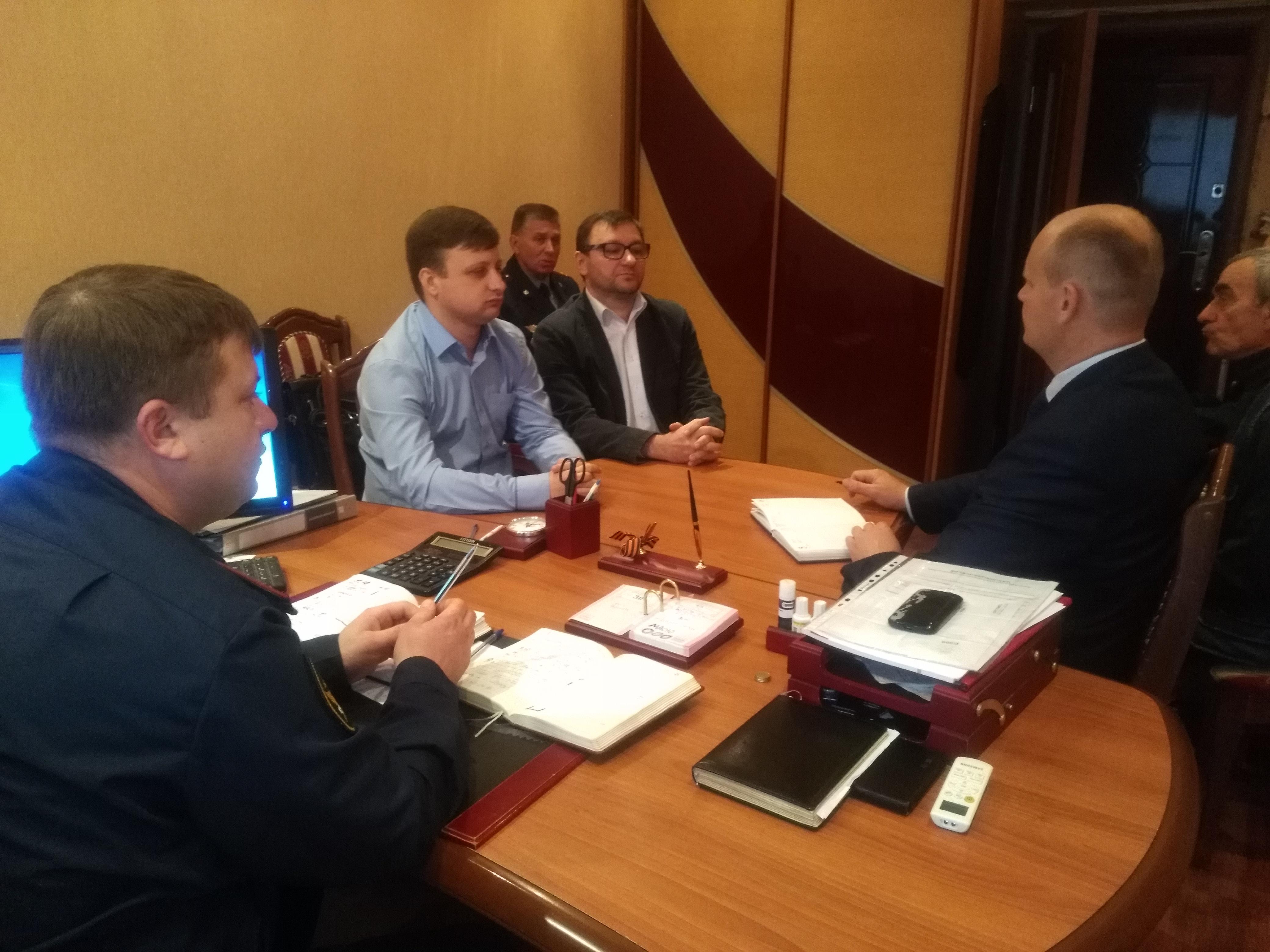 Рабочая встречи с общественными организациями
