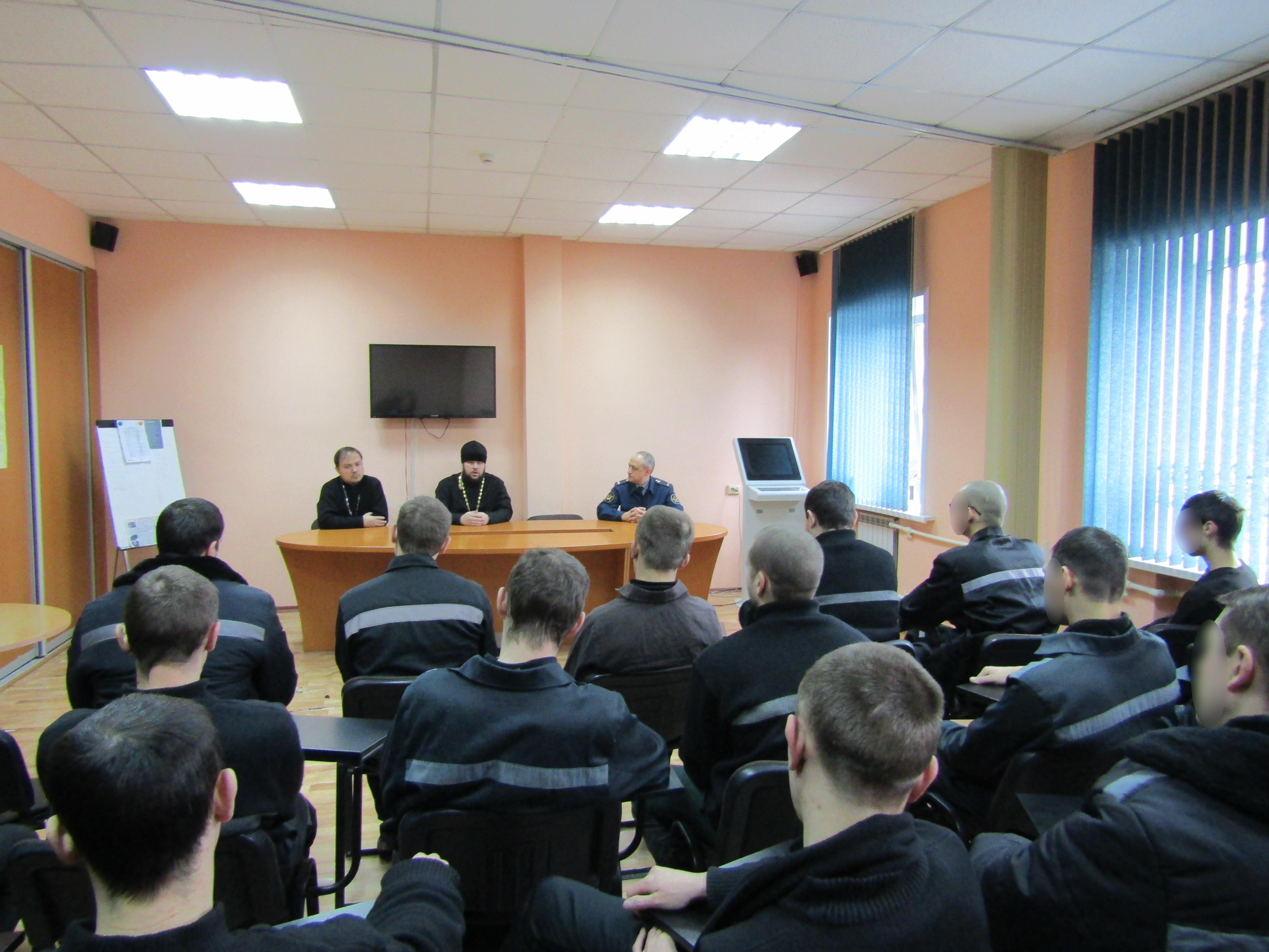 В ИК-6 прошла встреча осужденных с теологами
